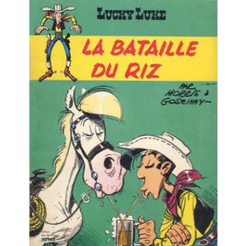 La bataille du Riz Lucky Luke
