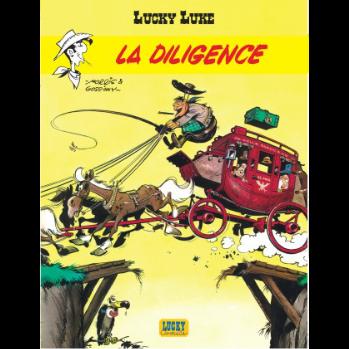 La diligence Lucky Luke